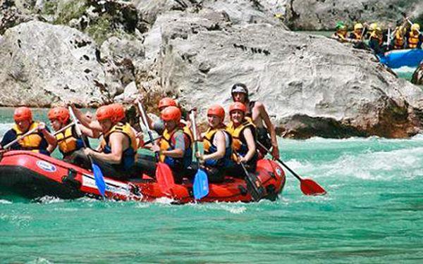 Akční čtyřdenní rafting v Nízkých Tatrách