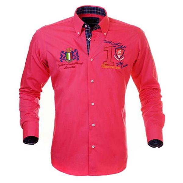 Fuchsiová košile Pontto