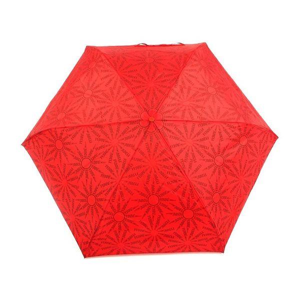 Dámský deštník Ferre Milano červený s potiskem