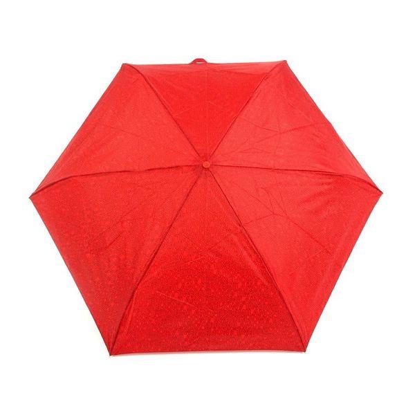 Dámský deštník Ferre Milano červený vzorovaný