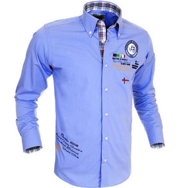 Světle modrá košile Pontto