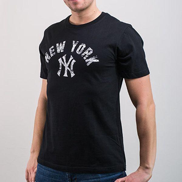 Černé tričko NY Yankees