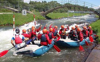 Rafting na kanáli v Liptovskom Mikuláši za 24 €!