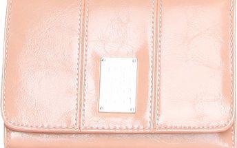 Dámska svetlo ružová peňaženka Roccobarocco