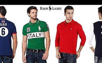 Objevte pohodlnou luxusní módu RALPH LAUREN! Investujte do vysoce kvalitního oblečení proslulé svěží elegancí a živými odstíny. Oblíbené pánské POLO tričko pro vás máme v krátké i dlouhé verzi se 40% slevou.