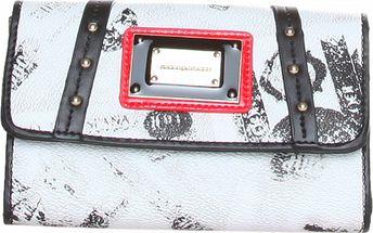 Dámska čierno biela peňaženka Roccobarocco