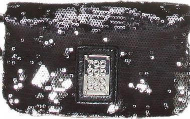 Dámské černé psaníčko s flitry Roccobarocco