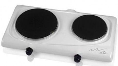 Dvouplotýnkový vařič ETA 3119 90001 - Plynulá regulace teploty
