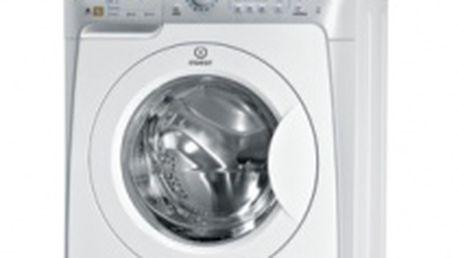 Automatická pračka Indesit PWE61041S - pojme najednou až 6kg prádla