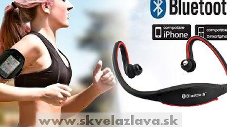 Športové bezdrôtové Bluetooth stereo slúchadlá vhodné pre mobilné telefóny, PC a iPod za 28,90 € aj s poštovným.