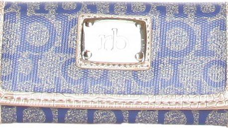 Dámská modro-šedá klíčenka Roccobarocco