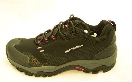 Dámská lehká trekingová obuv Numero Uno Silky L Black 37,0