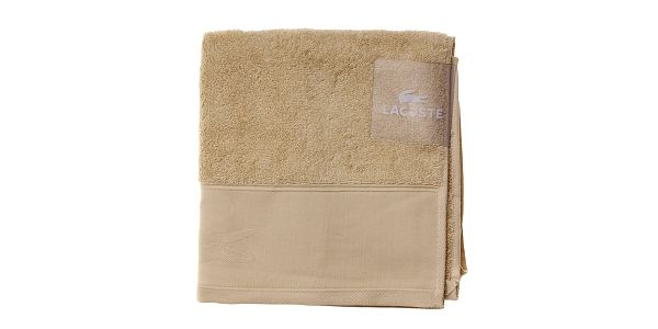 Smetanový ručník Lacoste