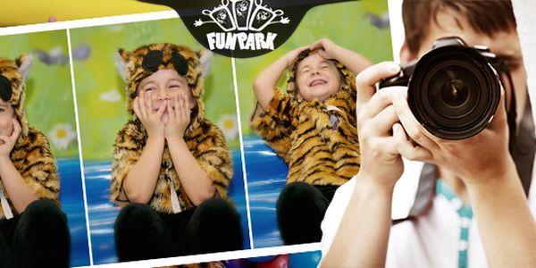Profesionálne fotografovanie detí vo FUN PARKU