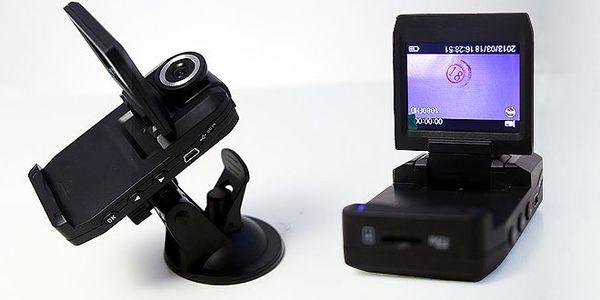 Full HD mini kamera do auta s nočním viděním