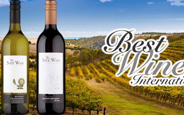 Šest lahví australského vína + DVD
