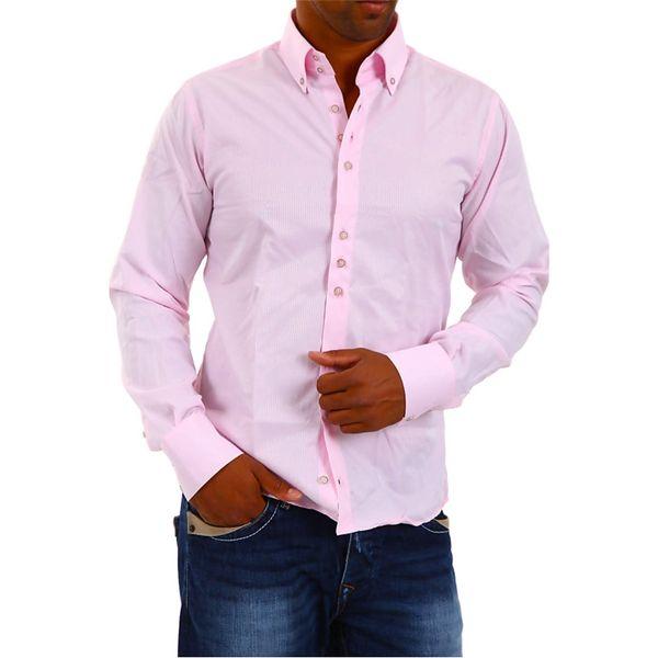 Pánská košile Redbridge růžová