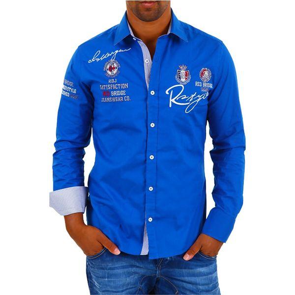 Pánská košile Redbridge modrá