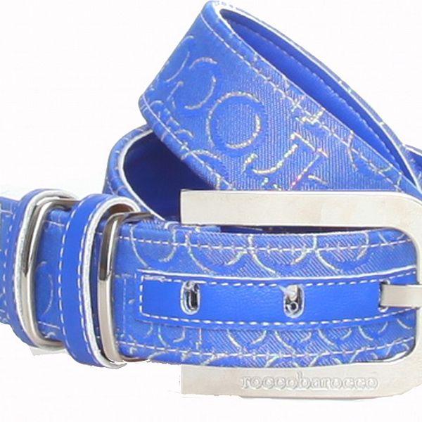 Dámsky modrý opasok Roccobarocco