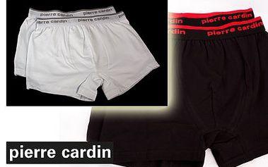2x boxerky Pierre Cardin s doručením za 279 Kč!