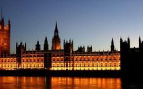 LETECKÝ EUROVÍKEND: Velká Británie - Londýn – perla na řece Temži – 3 dny / 2 noci. Nyní stačí záloha 3.990,- Kč