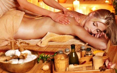 60 minutová medová detoxikační masáž, včetně zábal...