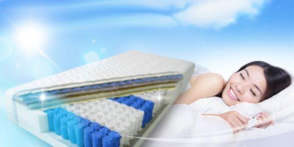 Dopřejte si opravdu komfortní spánek s novými MATRACEMI SUPER COMFORT! 2 ks za skvělých 5.499 Kč včetně poštovného! 7 zónové matrace s taštičkovými pružinami a s hypoalergenním potahem s výtažky z aloe vera!