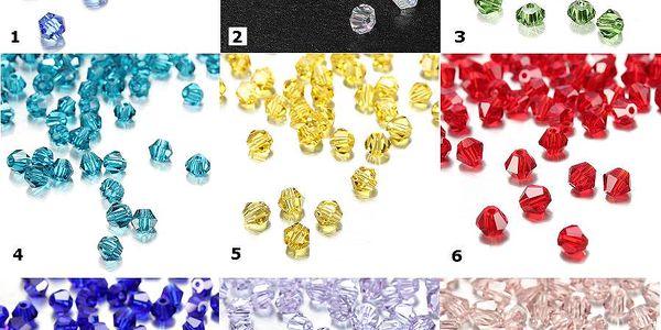Skleněné navlékací korálky 100 ks - na výběr z 9 barev a poštovné ZDARMA! - 88