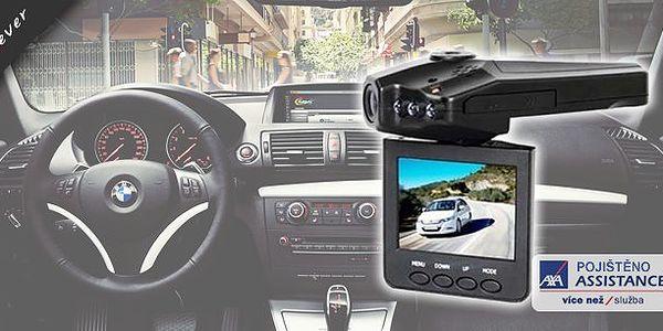 HD portable - mini kamera do auta s nočním viděním za 899 Kč!Sledujte provoz před nebo za autem a zachyťte tak důležité okamžiky