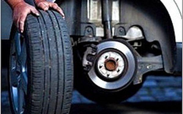 Přezutí všech 4 pneu