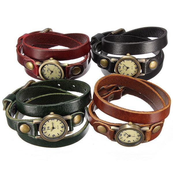 Dámské retro náramkové hodinky ve 4 barvách a poštovné ZDARMA! - 88