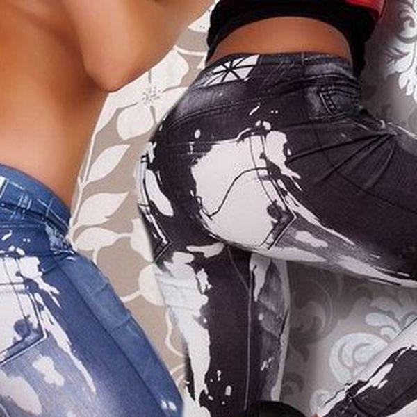 Nezbytný doplněk Vašeho šatníku, nikdy nevyjdou z módy!! Legíny, teď navíc v módním stylu jeansů a hit letošního léta!!