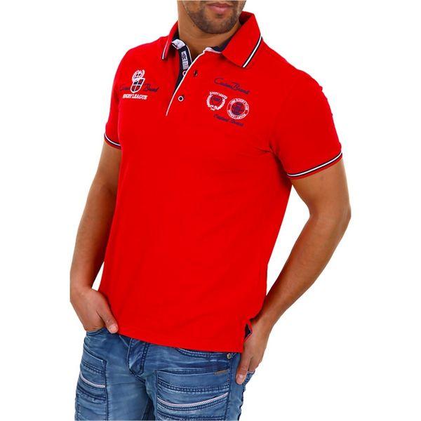 Pánské polo triko Carisma červené s logem