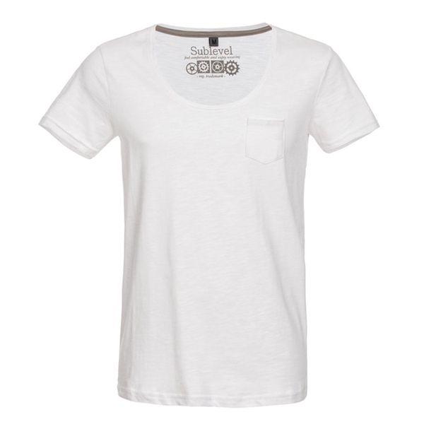 Pánské tričko Sublevel bílé