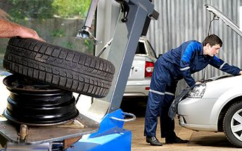Výměna kol na discích nebo přezutí pneumatik