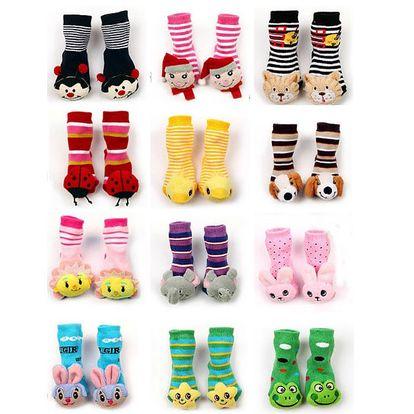 Veselé dětské ponožky s protiskluzovou vrstvou - na výběr z 12 provedení a poštovné ZDARMA! - 89
