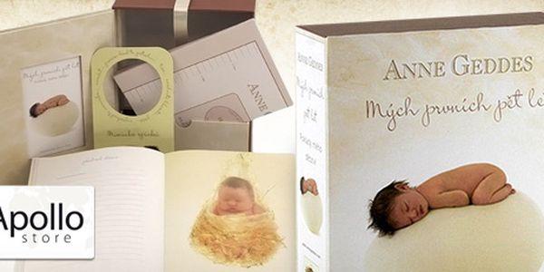 """Kniha """"Mých prvních pět let"""" - dárkové balení jen za 299 Kč!"""
