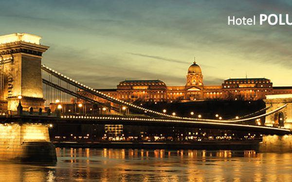 Pobyt pre dvoch v historickej a kúpeľnej Budapešti