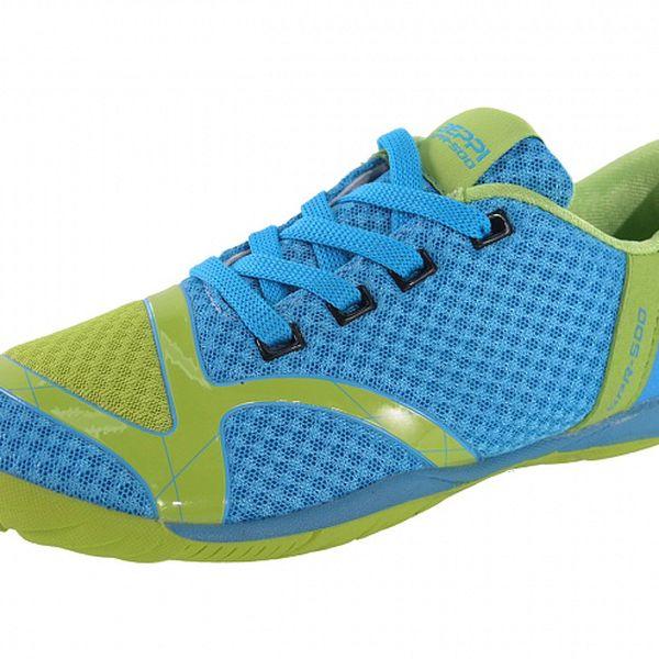 Dámske modro-zelené tenisky Beppi