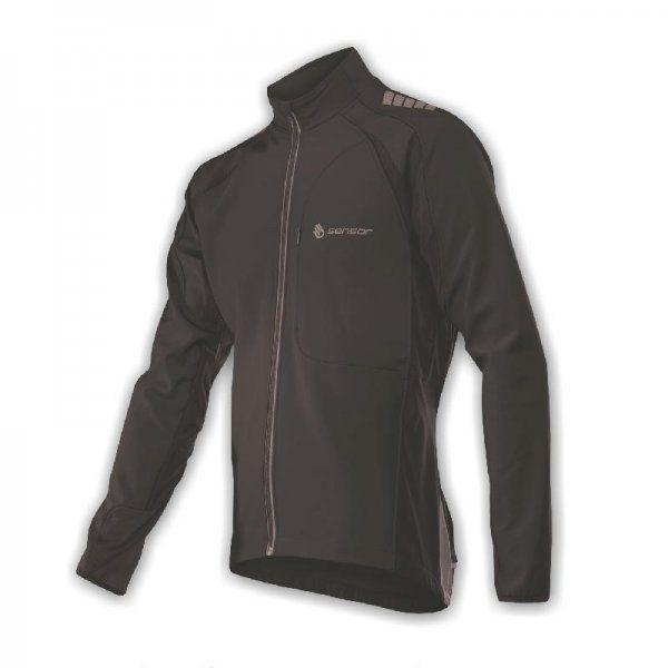 Sensor Storm černá M - pánská univerzální softshellová bunda