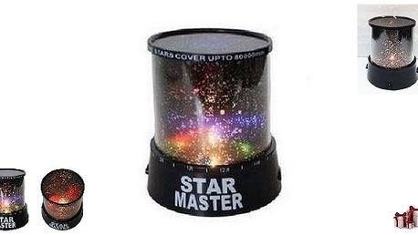 Noční obloha se STAR MASTER lampičkou, báječný dár...