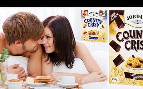 Začněte svůj den s JORDANS, britskými cereáliemi prémiové kvality, s výběrem z čokoládových nebo oříškových jen za 56 Kč. Objevte poctivou, zdravou a především chutnou snídani s dostatkem energie na celé dopoledne!