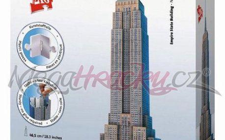 Úžasné Puzzle 3D - Empire State Building - 216 dílků