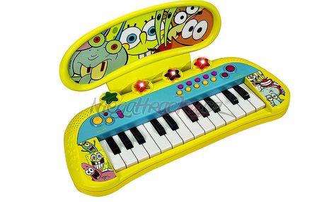 SpongeBob - Elektronické klávesy pro začínající rockové hvězdy
