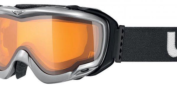Uvex Orbit Optic Black Metallic Shiny - kvalitní lyžařské brýle se speciální konstrukcí