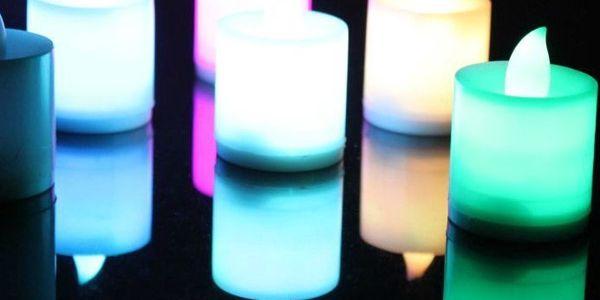 Romantická LED svíčka v 5 barvách a poštovné ZDARMA! - 90
