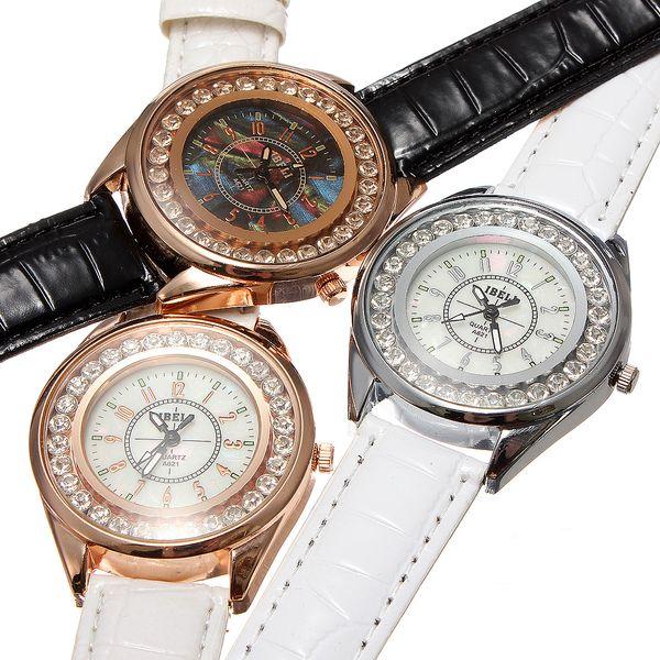 Dámské analogové hodinky zdobené třpytivými kamínky - na výběr ze 3 provedení a poštovné ZDARMA! - 90