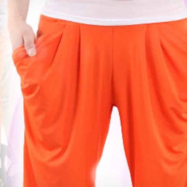 Dámské harémovky (13 barev): stylové, příjemné a oblíbené kalhoty s 50% slevou!