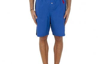 Pánske sýto modré pyžamové šortky Polo Ralph Lauren