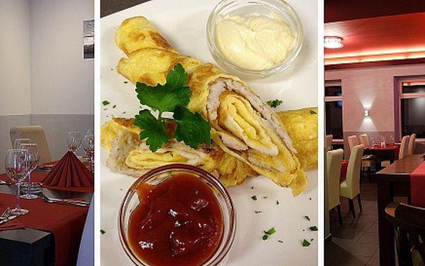 Luxusní degustační menu v luxusní restauraci Nová beseda